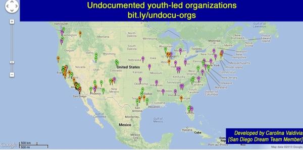 Undocumented Youth-Led Organizations